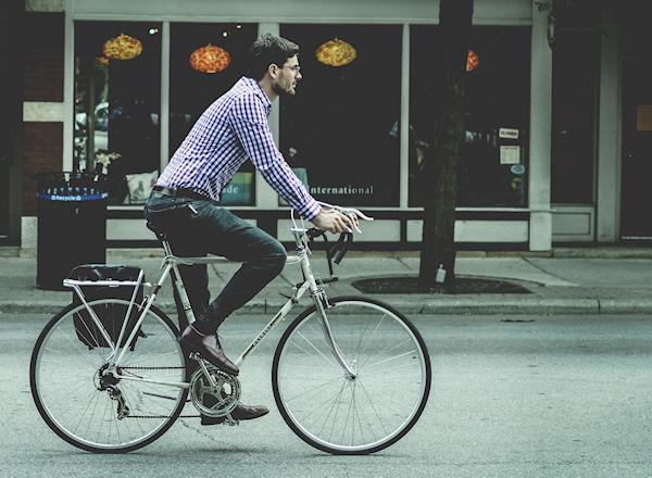 cyklista - život bez auta