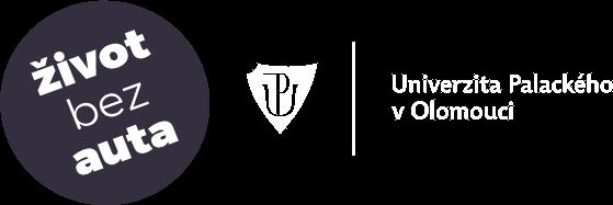 logo - Život bez auta, Univerzita Palackého v Olomouci